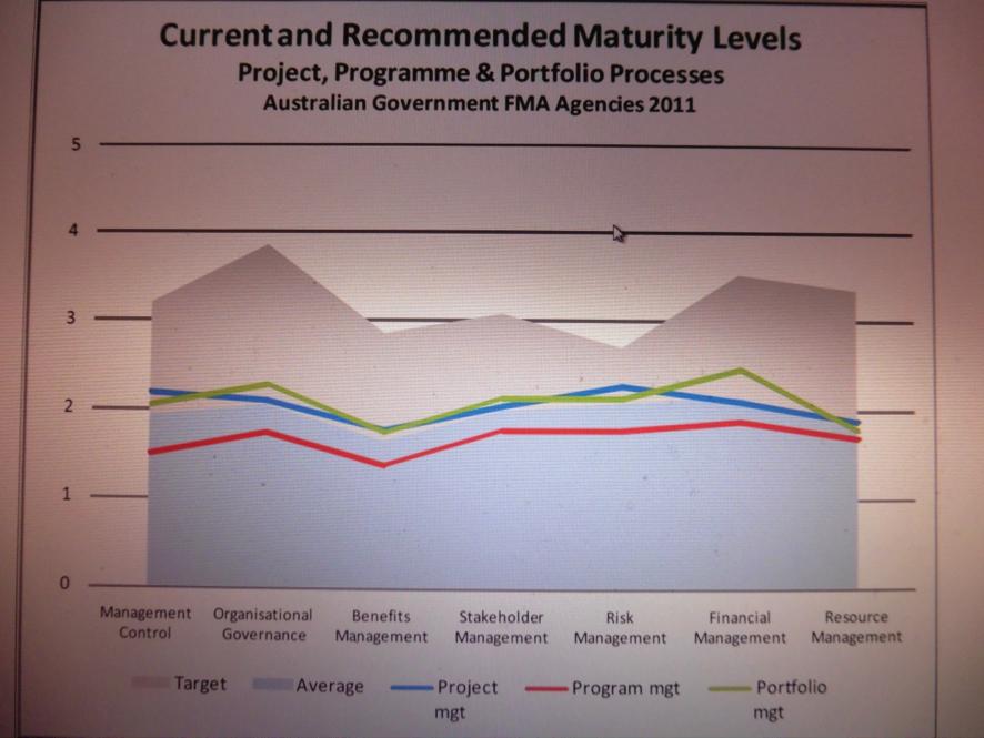 Рекомендованный уровень зрелости организаций в области управления проектами